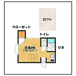 アレグリア賀茂[1階]の間取り