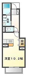 ドゥーメゾンI・II番館[1階]の間取り