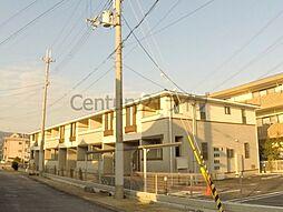 兵庫県宝塚市山本丸橋2丁目の賃貸アパートの外観