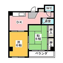 宮田ビル[5階]の間取り