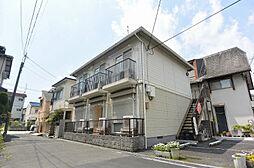 大阪府枚方市楠葉丘1丁目の賃貸アパートの外観
