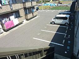 ボナール B棟[2階]の外観
