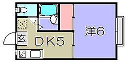 ARK五個荘I[2階]の間取り