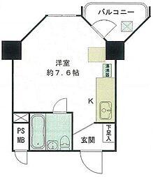 東京都練馬区関町北4丁目の賃貸マンションの間取り