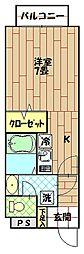 エクセルハイムII[301号室]の間取り
