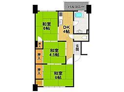 北村住宅[3階]の間取り
