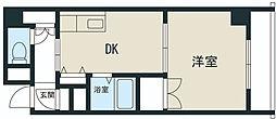 新大阪グランドハイツ北[9階]の間取り