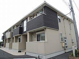 埼玉県鴻巣市大間の賃貸アパートの外観