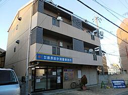 大阪府門真市幸福町の賃貸アパートの外観