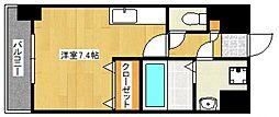 メゾンクラウン大手山[10階]の間取り