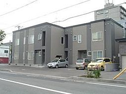 北海道札幌市東区北十七条東7丁目の賃貸アパートの外観