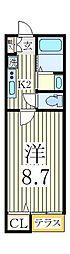 Pastel[1階]の間取り