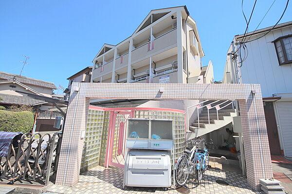 シティパレス生駒谷田町P-II[205号室]の外観