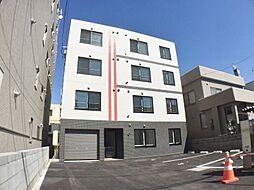 北海道札幌市豊平区美園七条3丁目の賃貸マンションの外観