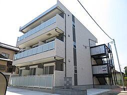 千葉県千葉市稲毛区稲毛東5丁目の賃貸アパートの外観
