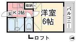 松山市駅駅 2.4万円
