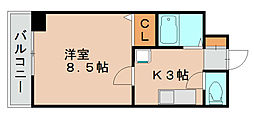 コスモノート[2階]の間取り