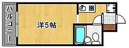ライオンズマンション三宮[7階]の間取り