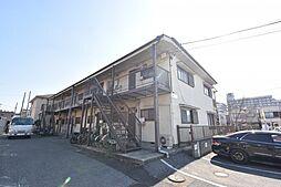 横田コーポ[102号室]の外観