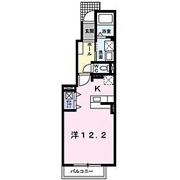 メゾン・ドゥ・シャルマン壱番館[2階]の間取り