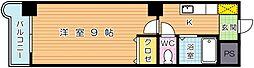 ウインズ浅香I[7階]の間取り