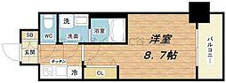 レオンコンフォート桜ノ宮[6階]の間取り