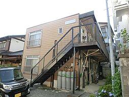 長野県松本市蟻ケ崎4丁目の賃貸アパートの外観
