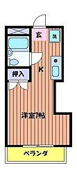 ヘリテイジ[2階]の間取り