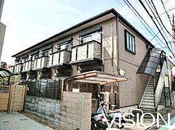 埼玉県和光市新倉1-の賃貸アパートの外観