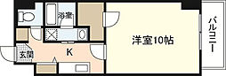 第23やたがいビル[6階]の間取り