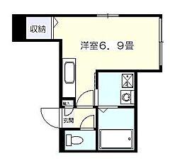 ルーチェONITAKA[1階]の間取り