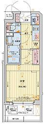 レオンコンフォート堀江公園 11階1Kの間取り