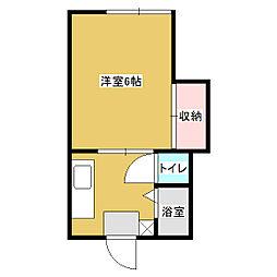 福寿ハイツ[2階]の間取り