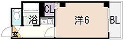 オーナーズマンション友井[8階]の間取り