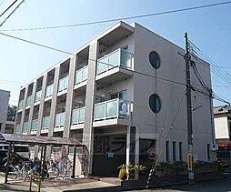 京都府城陽市枇杷庄大三戸の賃貸マンションの外観