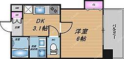 グレース黒崎[4階]の間取り