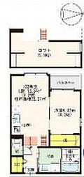 グランディオーソ姫島[1階]の間取り