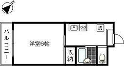 第28シンエイビル[3階]の間取り