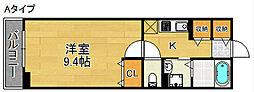 ハノンカンタービレ[2階]の間取り