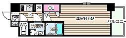 エスリード梅田西第5[4階]の間取り