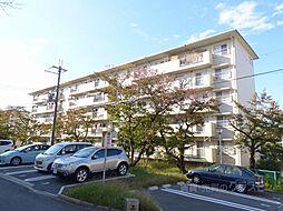 大阪府富田林市寺池台1丁目の賃貸マンションの外観