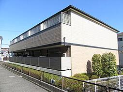 大阪府富田林市中野町3丁目の賃貸アパートの外観