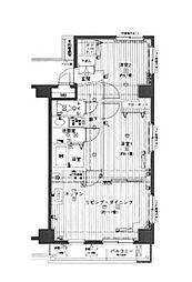 JR山手線 渋谷駅 徒歩11分の賃貸マンション 5階2LDKの間取り