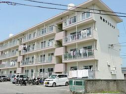 河鶴マンション[1階]の外観
