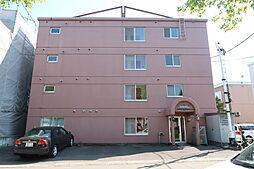 北海道札幌市豊平区平岸三条2丁目の賃貸マンションの外観