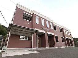 福岡県遠賀郡岡垣町海老津1丁目の賃貸アパートの外観