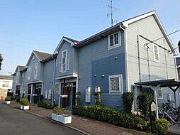 千葉県野田市中根の賃貸アパートの外観