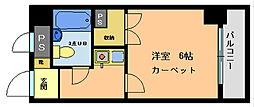 ライオンズマンション西八王子 第3[506号室]の間取り