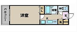 トーシンフェニックス新横濱イクシール[804号室]の間取り
