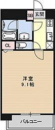 アルモニー花屋町[301号室号室]の間取り
